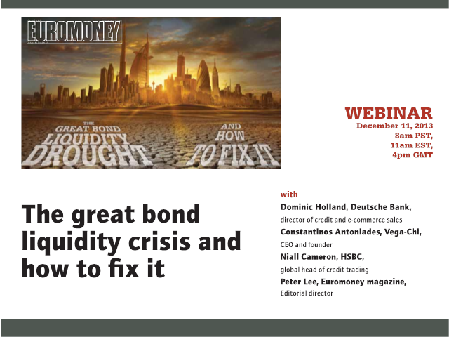 How to fix the great bond liquidity crisis