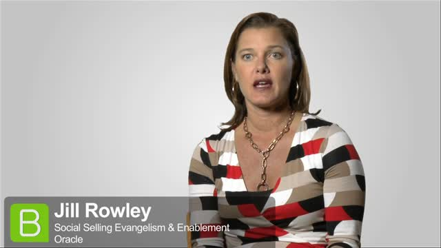 BrightTALK at EE13: Jill Rowley about Social Selling