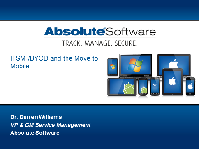 ITSM In A BYOD World
