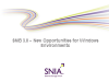 LIVE WEBCAST:  SMB 3.0 – New Opportunities for Windows Environments