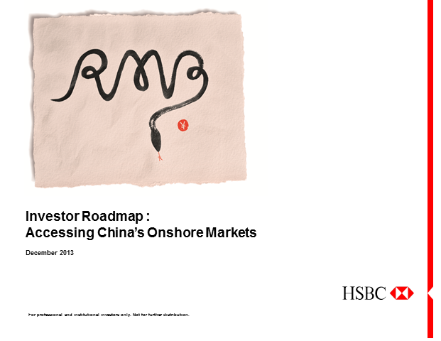 Investor roadmap: accessing China's onshore markets