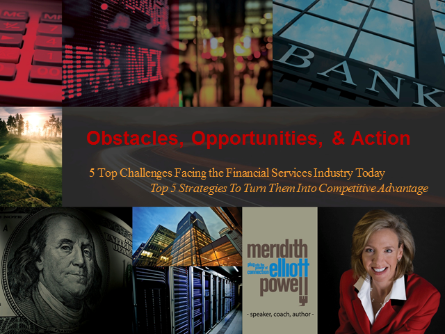 Obstacles, Opportunities  & Action