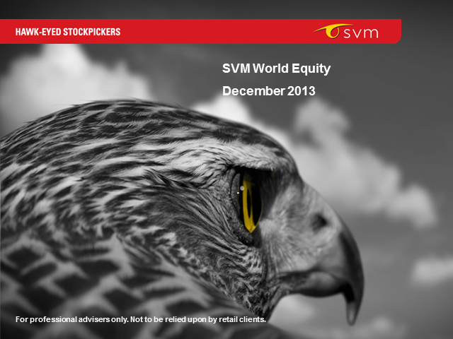 SVM World Equity Fund 3 year anniversary webconference