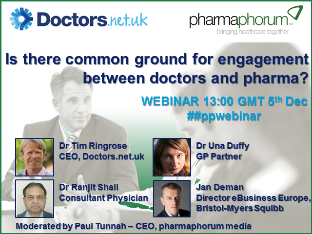 Is there common ground for engagement between doctors and pharma?