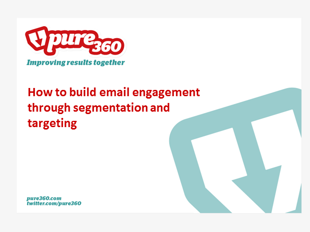 How to build email engagement through segmentation and targeting