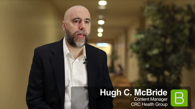 BrightTALK at EE13: Hugh C. McBride of CRC Health Group
