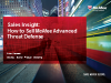 Sales Essentials: How to Sell McAfee Advanced Threat Defense