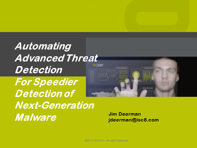 Automating Advanced Threat Detection for Speedier Identification of Next-generat