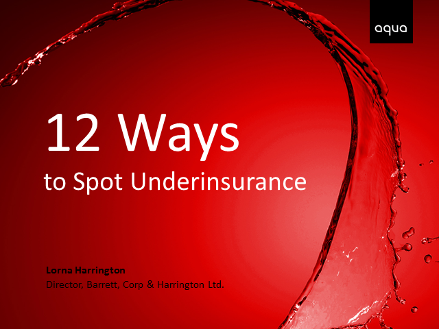 12 Ways to Spot Underinsurance