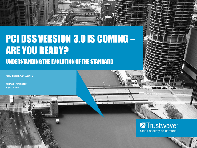 PCI 3.0 is Coming – Are you Ready?