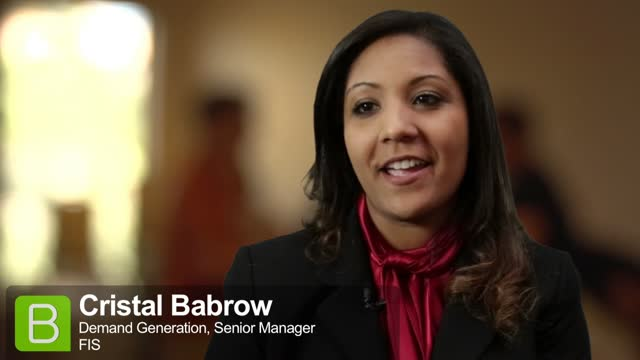 BrightTALK at EE13: Cristal Babrow on Expert Lead Scoring