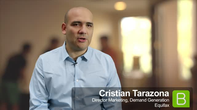 BrightTALK at EE13: Cristian Tarazona about profiling customers