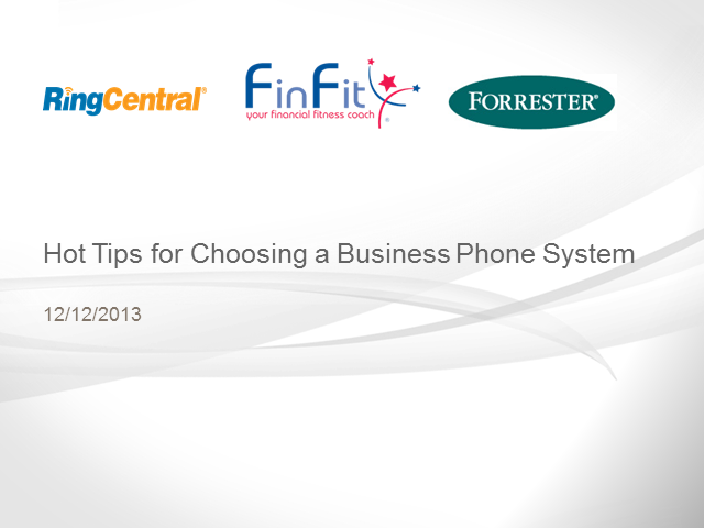 Hot Tips for Choosing a Business Phone System