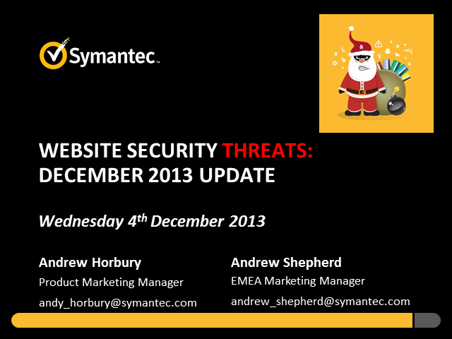 Website Security Threats: December Update