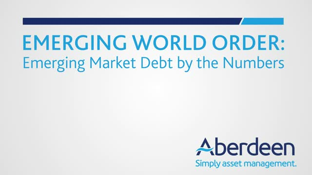 Emerging World Order: Emerging Market Debt By the Numbers