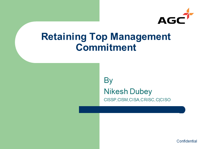 Retaining Top Management Commitment