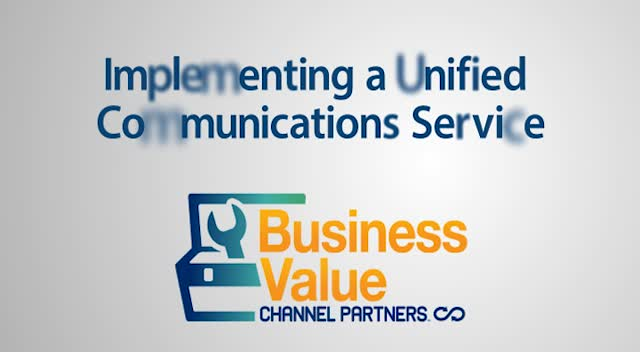 Implementing a Unified Communications Service