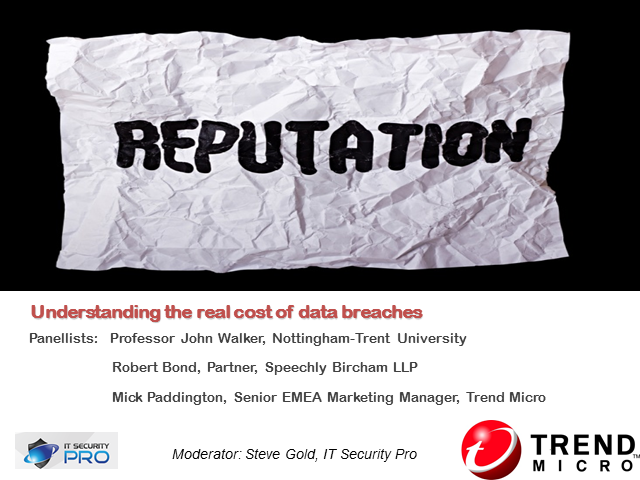 Understanding the real cost of data breaches