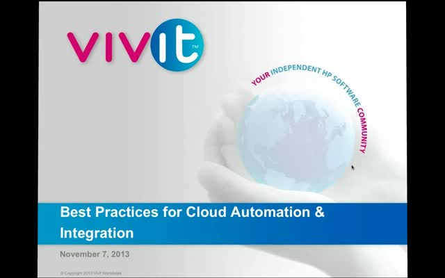Best Practices for Cloud Automation & Integration