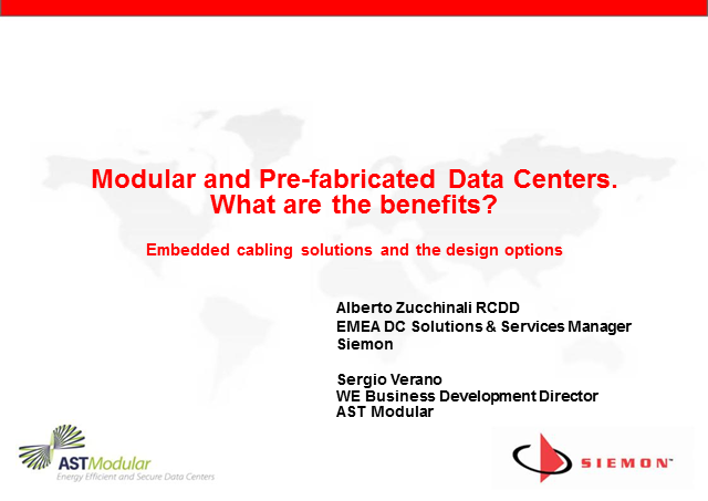 Pre-fabricated and Modular Data Centers. What are the Benefits?