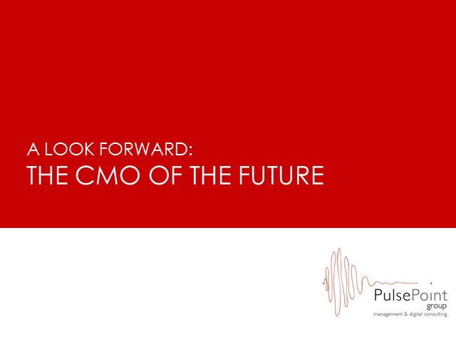 A Look Forward: The CMO of the Future