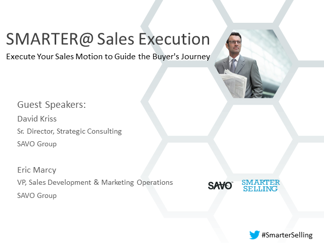 Smarter Sales Execution to Guide the Buyer Journey