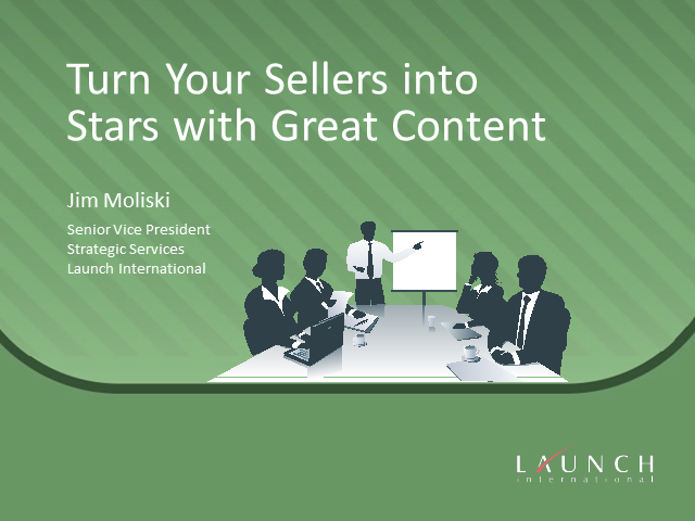 Turn Your Sellers into Stars with Great Content