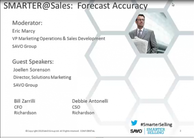 Smarter Forecast Accuracy
