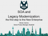 SOA and legacy modernization: the first step to the New Enterprise