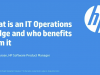 What is an IT Operations Bridge and who benefits from it?