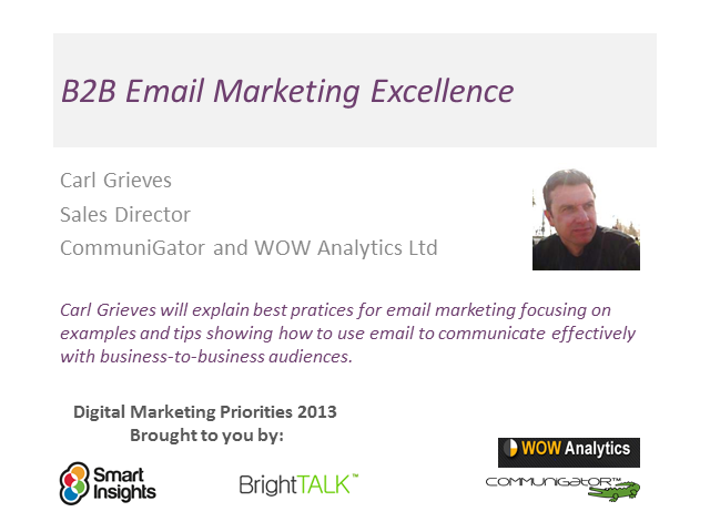 B2B Email Marketing Excellence