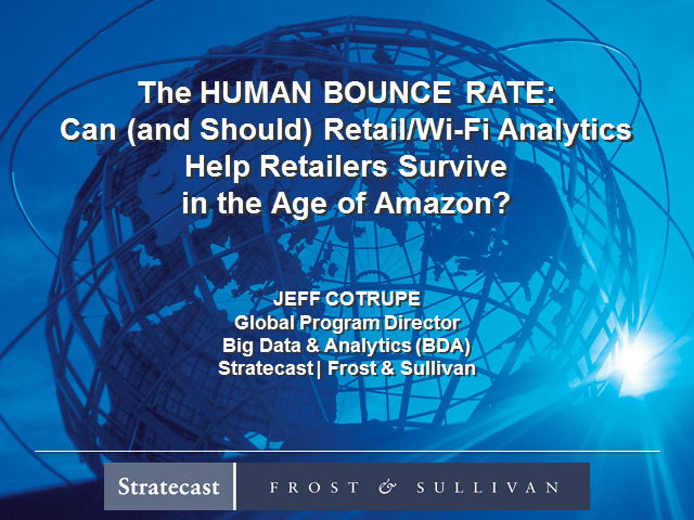 Can Retail/Wi-Fi Analytics Help Retailers Survive in the Age of Amazon?