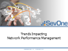 Trends Impacting Network Performance Management