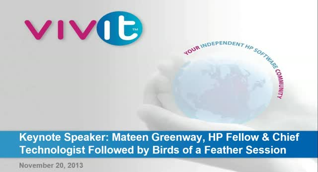 Game Changers Big Data - Keynote Speaker Mateen Greenway and Birds of a Feather