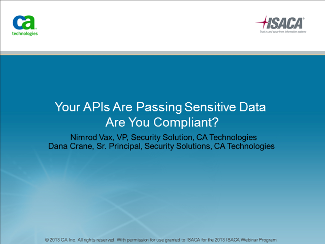Your APIs Are Passing Sensitive Data. Are You Compliant?