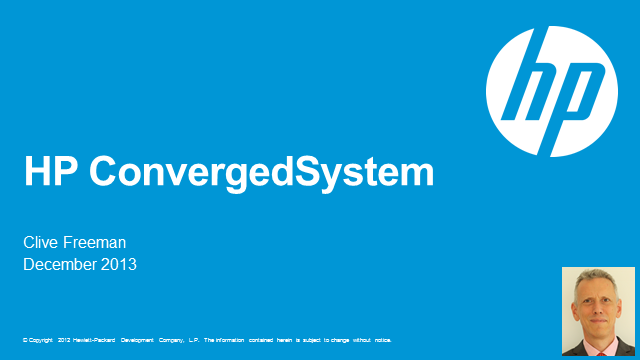 HP ConvergedSystem – is this your new IT building block?