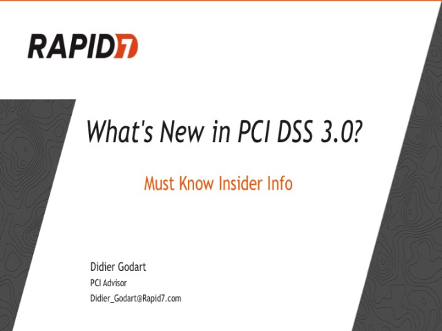 What Is New in PCI DSS 3.0?: Must Know Insider Info