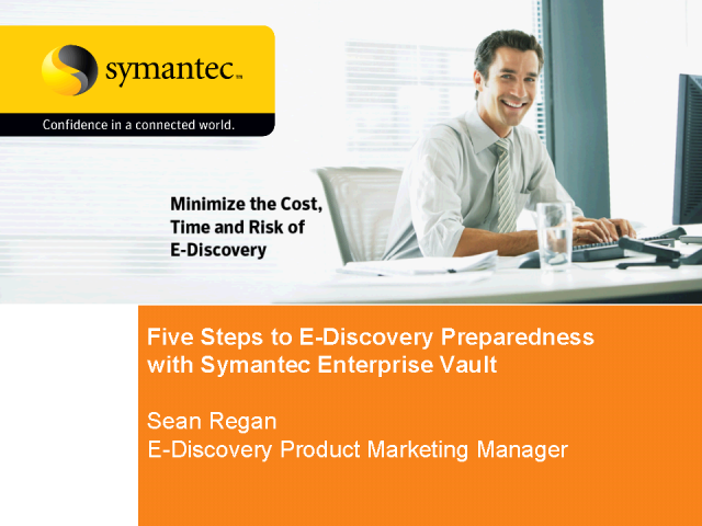 Steps to E-Discovery Preparedness