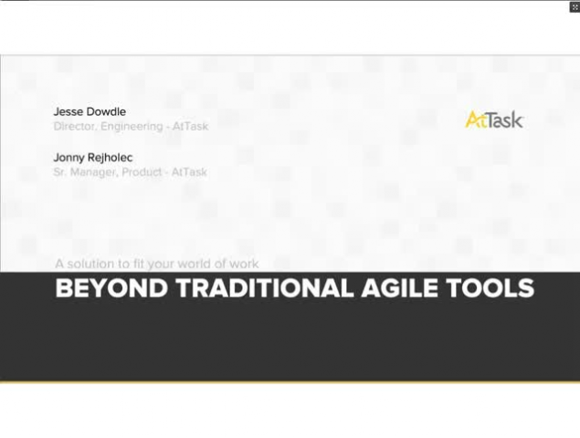 Go Beyond Traditional Agile Tools