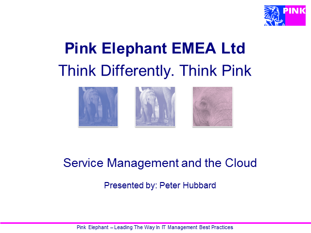 Service Management and the Cloud
