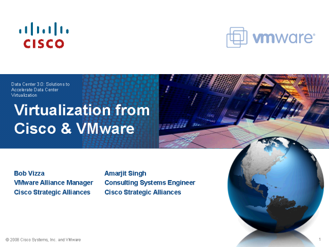 Virtualization from Cisco and VMware