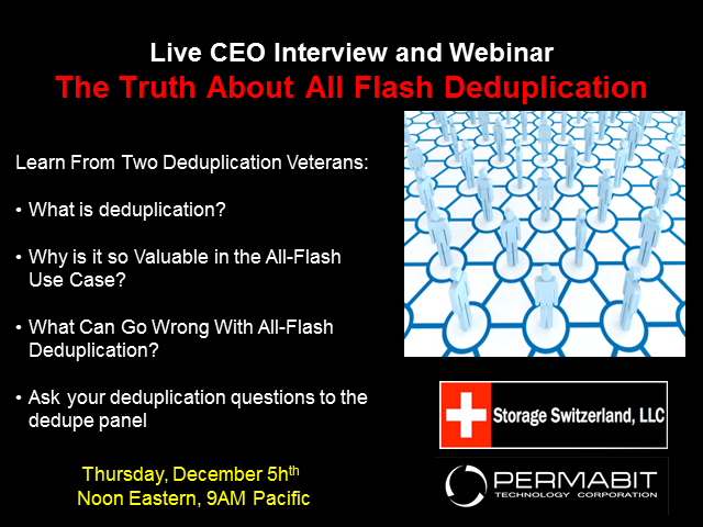The Truth All-Flash Deduplication