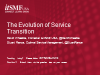The Evolution of Service Transition