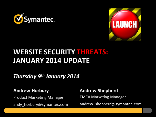Website Security Threats: January Update