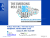 The Emerging Role of Big Data in Digital Ecosystems