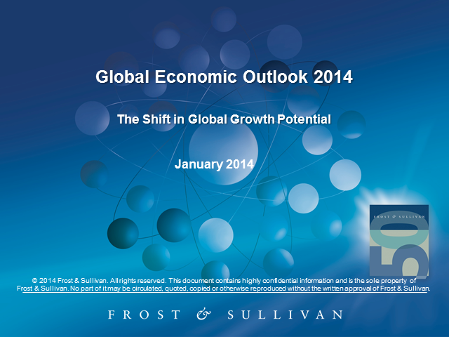 Global Economic Outlook 2014: The Shift in Global Growth Potential
