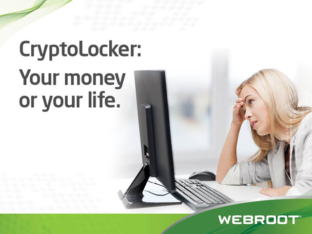 CryptoLocker: Your Money or Your Life