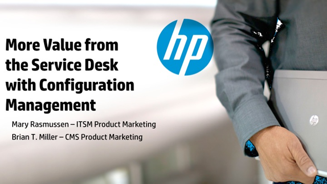 Getting more value from your service desk with configuration management