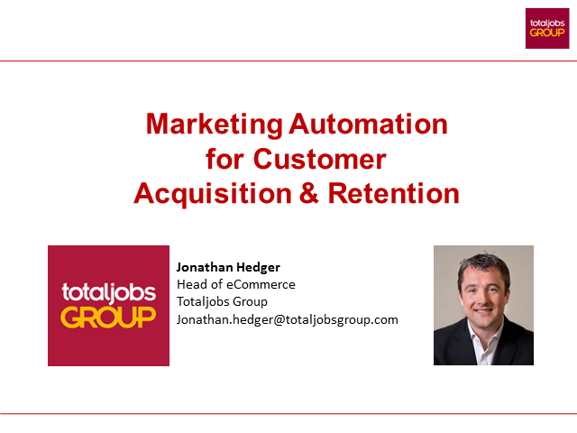 Marketing Automation for Customer Acquisition and Retention