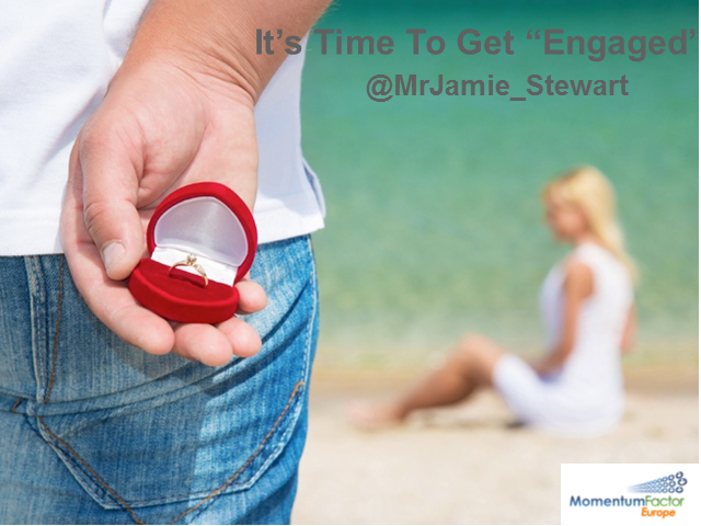 It's Time to Get Engaged
